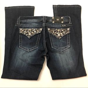 Miss Me Mid Rise Boot Jeans size 28